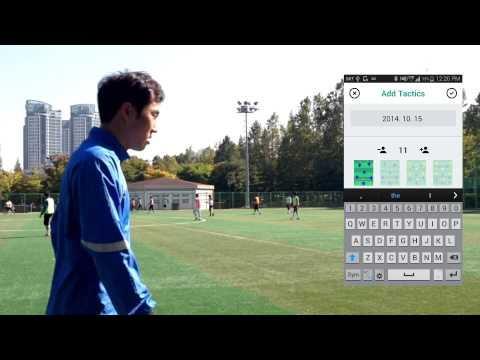 Video of Soccer Board - Manage tactics