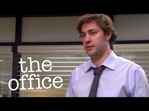 Jim Gets A Formal Warning  - The Office US (видео)
