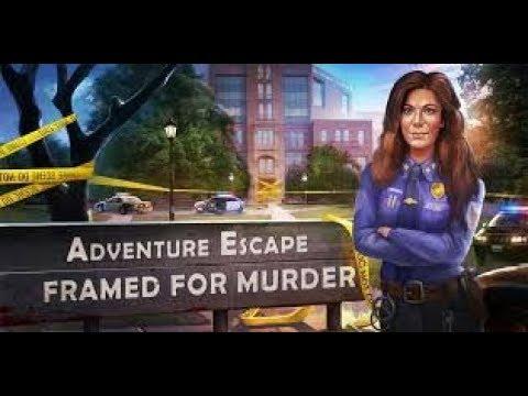 Adventure Escape FRAMED For Murder FULL Game Walkthrough