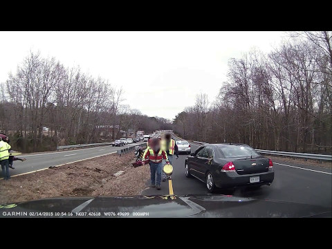Vehicle Recovery with a rollback tow truck wrecker
