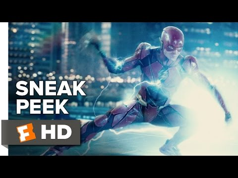 Justice League 'The Flash' Sneak Peek (2017) | Movieclips Trailers