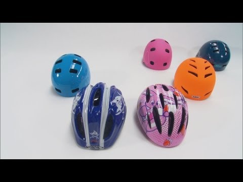 ADAC Test: Kinder-Fahrradhelme