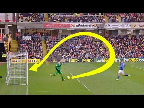 ТОП 12 САМЫХ неожиданных голов в футболе (видео)