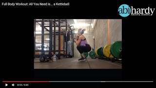 Full Body Workout - All you need is... a Kettlebell!