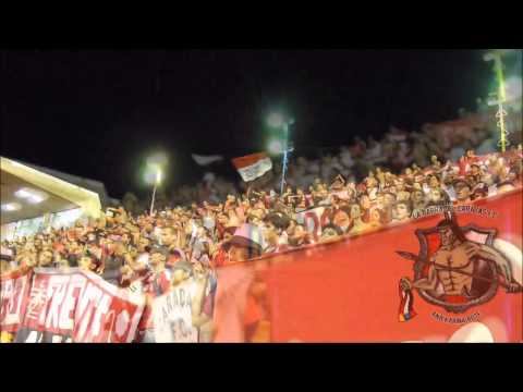LOS DEMONIOS ROJOS en Maracay l Aragua FC Vs CARACAS FC l CV 2013 l 30 10 2013 - Los Demonios Rojos - Caracas