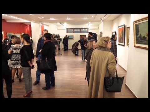 Personal Exhibition of Carzou's artworks at Arame Art Gallery,  14.11.2014