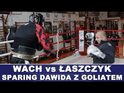 Wach vs Łaszczyk - SPARING Dawida z Goliatem