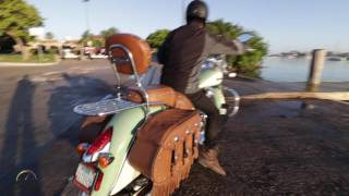 7. Miami Tour con EagleRider y la Indian Chief Vintange 111