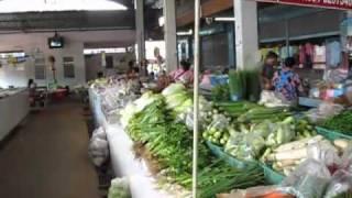Nong Ki Thailand  city photo : nong ki market buriram thailand.mkv