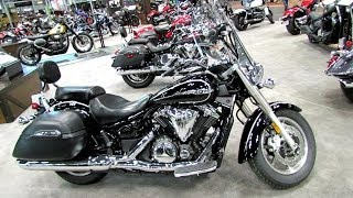 7. 2014 Yamaha V-Star 1300 Tourer Walkaround - 2013 NY Motorcycle Show