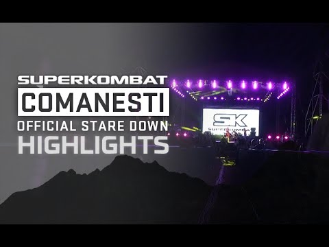Superkombat Comanesti - Official stare down highlights