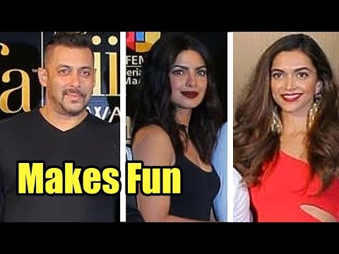 Leaked: Salman Khan Makes Fun Of Priyanka Chopra a