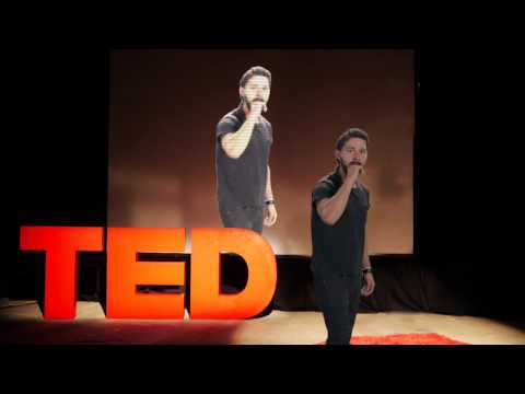 Watch Shia LaBeouf Deliver The Most Intense TED Talk In