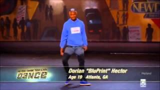 So You Think You Can Dance Season 10   Dorian 'Bluprint' Hector