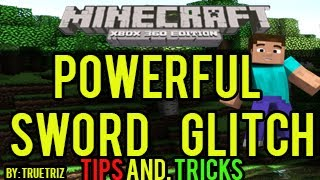 Minecraft (Xbox 360) - Powerful Sword Glitch