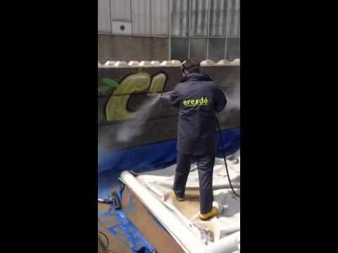 Professioneel graffiti verwijderen