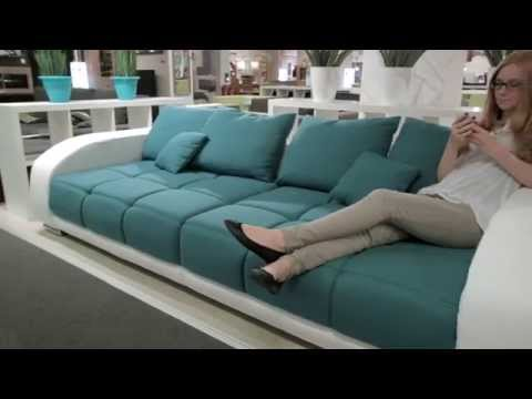 TRENDS - Sofa IBIZA mit Sound