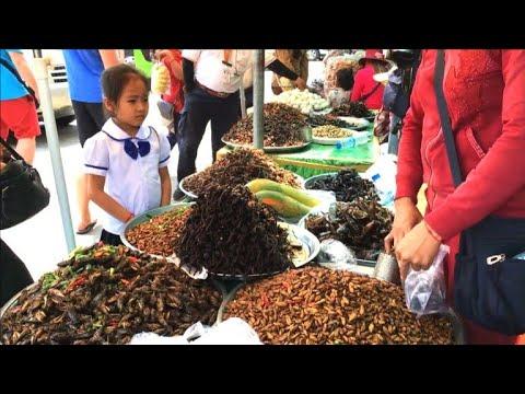 Kambodscha: Frittierte Tarantel - angeblich köstlich