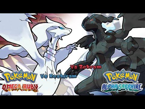 Pokemon Omega Ruby/Alpha Sapphire - Battle! Reshiram/Zekrom Music (HQ)