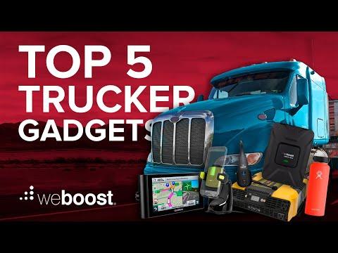 Top 5 Gadgets for Truckers   weBoost