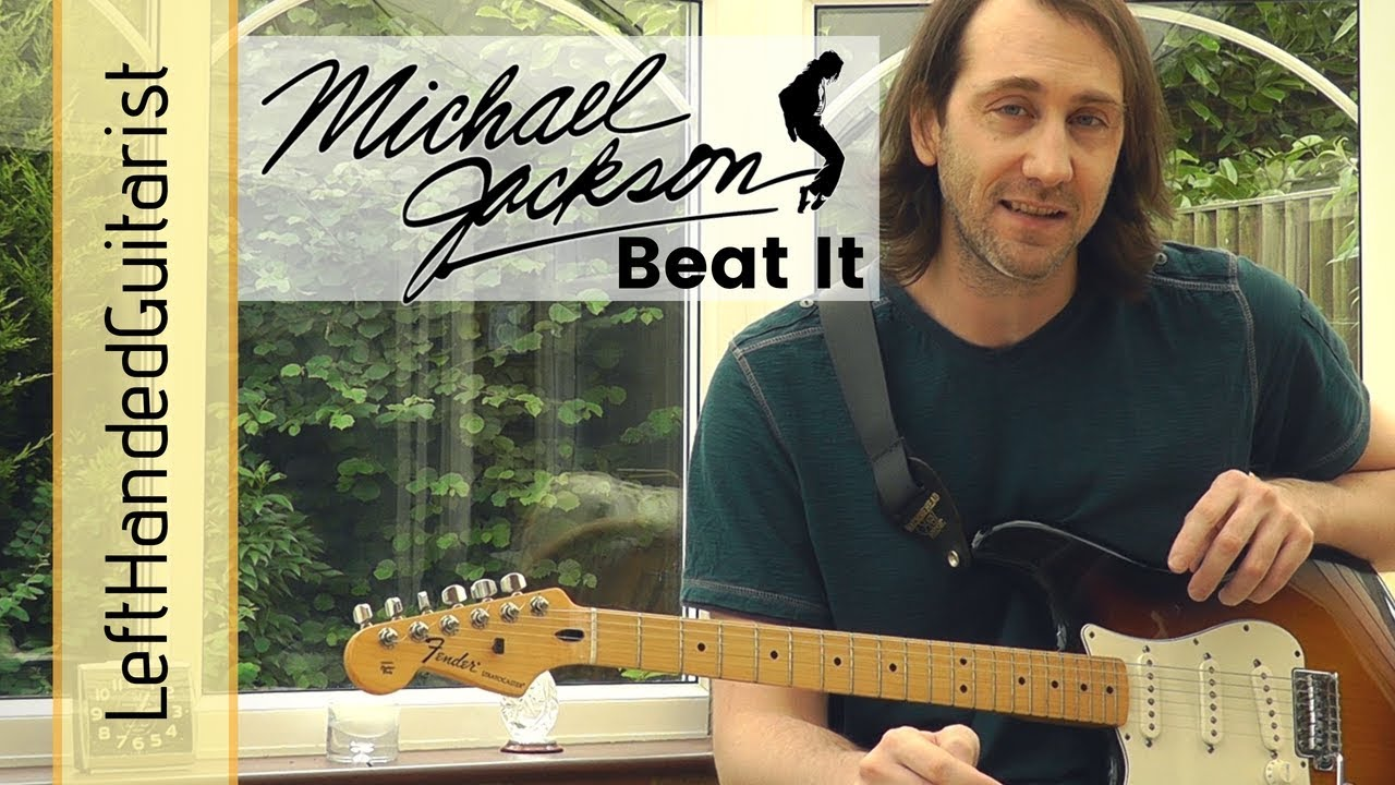 Michael Jackson – Beat It | rhythm guitar lesson
