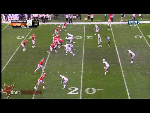 Josh Shirley vs Illinois 2013 video.