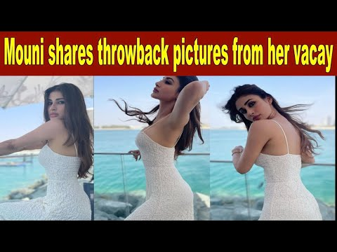 Mouni Roy shares throwback pictures from happier times
