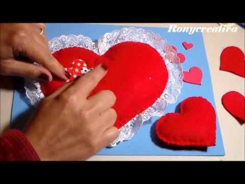 feltro - idea regalo per san valentino