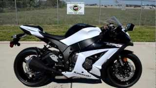 10. On Sale $12,499: 2013 Kawasaki ZX10R ABS in Pearl Stardust White