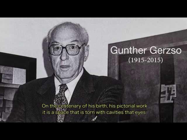El pintor mexicano Gunther Gerzso en el centenario de su nacimiento