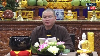[TRỰC TIẾP] Lớp Bát Chánh Đạo với Thầy Quảng Tịnh - Ngày 23/11/2018