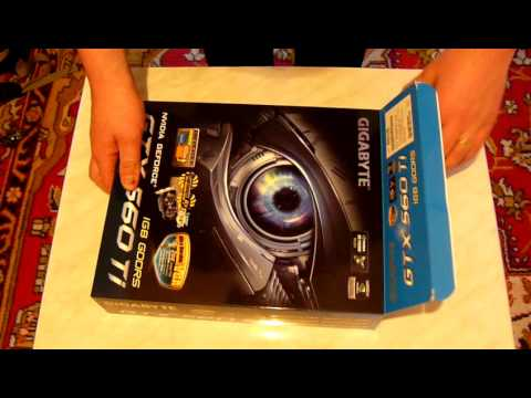 Unboxing - Gigabyte GeForce GTX 560 Ti OC 1GB
