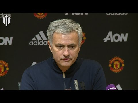 Jose Mourinho: 'Fans Love The Way Team Plays' Man United 2-1 Middlesbrough FULL PRESS CONFERENCE (видео)