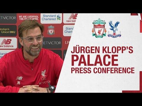 Video: Jürgen Klopp's pre-match press conference | Crystal Palace
