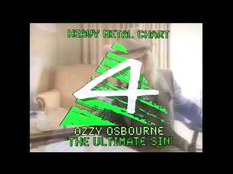 The Chart Show Heavy Metal Chart (8th August 1986)
