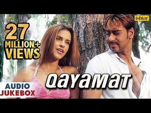 Qayamat - Bollywood Full Songs   Ajay Devgan, Suniel Shetty, Neha Dhupia   JUKEBOX   Romantic Hits