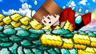 1 HOUR | KILLING MYSELF?! 500 DIAMONDS+GOLD OP! | Minecraft Money Wars 1.9 SOLO #46