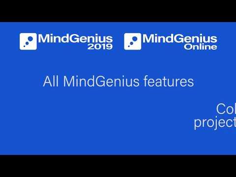 MindGenius 2019 & MindGenius Online Integration