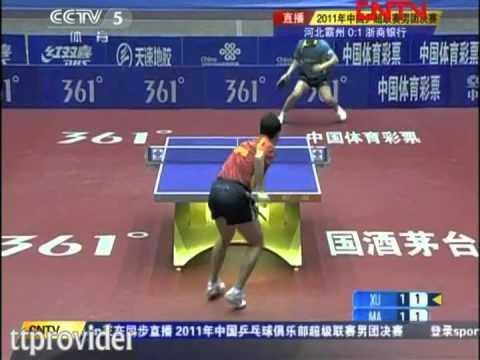 Ma Lin-Xu Xin (Chinese Superleague 2011 FINAL) видео