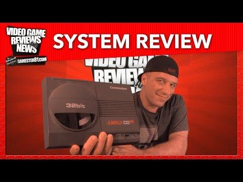 Rare Commodore Amiga CD32 System Review - Gamester81