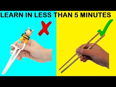 How To Use Chopsticks Immediately | Easily Explained