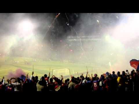 Recibimiento Cerro Porteño vs Santos de Brasil (CERRO EN HD) 2011 - La Plaza y Comando - Cerro Porteño - Paraguay - América del Sur