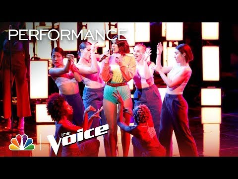 "Dua Lipa: ""IDGAF"" - The Voice 2018"