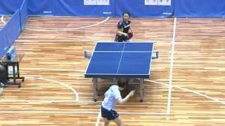 世界卓球2015蘇州 女子日本代表選手選考会 3日目