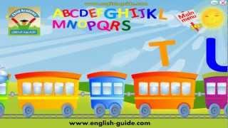 تعليم الانجليزية للاطفال اغنية قطار الحروف - ABC Song