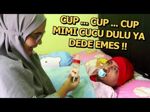 Bapak Jadi Bayi Lagi Buat Bahan Praktek Ibu