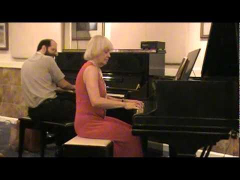 2-piano improvisation, Tom Brier & Squeek Steele