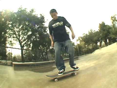 Gershon Mosley's The Park Ranger Series-Roosevelt skatepark-San Jose,Ca.