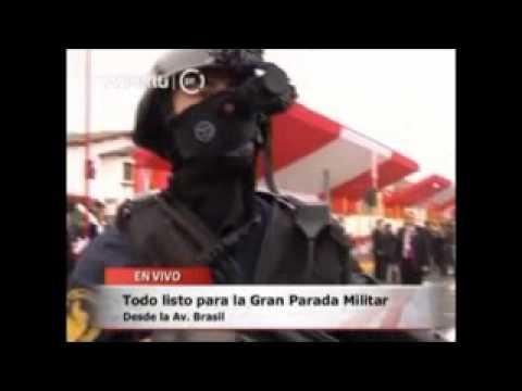 Uniformes y Armamento del Personal de la Marina de Guerra del Perú