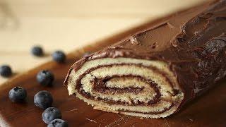 Cobertura de chocolate para bolo